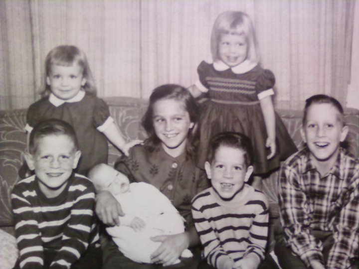 picture of family 1963