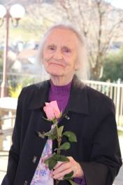 mom with rose